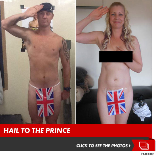 Britains Sun publishes nude photos of Prince Harry - The