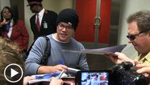 Matt Damon -- Ravens Would NOT Have Beat a HEALTHY Pats Team