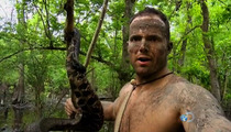 'Naked and Afraid' Star -- Watch Me Behead this Cannibalistic Snake