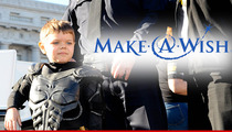 Make-A-Wish -- Yes, Batkid's in Remission ... But HE STILL HAS CANCER