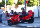 Justin Bieber -- Illegally Drives Can Am On Sidewalk ... Almost Hits Disabled Woman