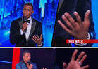Nick Cannon -- No Wedding Ring ... on America's Got Talent