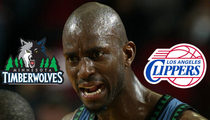 Kevin Garnett -- Drops More than $20,000 ... On 1,000 Ticket Giveaway