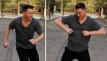 Channing Tatum -- Magic Mike's Ass Can Vogue Too!! Sorta ... (VIDEO)