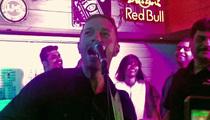 Chris Martin -- Pops Indian Concert Cherry (VIDEO)