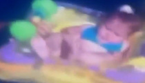 Baby Floats Out to Sea ... Coast Guard to the Rescue (VIDEO)