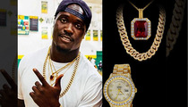 NFL's Melvin Ingram -- BEST COUSIN EVER ... $165K Jewelry Run For Family