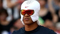 Nike's Ice Hat -- The Latest WTF Trend For Athletes ... Cool? (PHOTOS)
