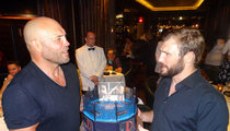Randy Couture -- For My Son's Birthday We'll Be In The Octagon Together