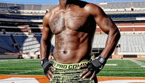 Guess Whose Shredded Stomach -- See The Hot Hunk!