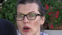 Milla Jovovich -- Family Bomb Threat Launches Investigation