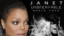 Janet Jackson Unbreakable Tour On Hold -- Singer Needs Surgery