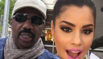 Steve Harvey -- Sobs and Begs Miss Colombia for Forgiveness
