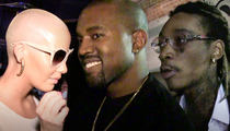 Kanye West -- Wiz and Amber Deserve Each Other