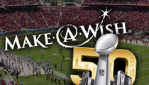 Make-A-Wish -- We're Taking 13 Kids to the Super Bowl!