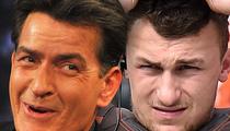 Charlie Sheen -- Even I'm Worried For Johnny Manziel
