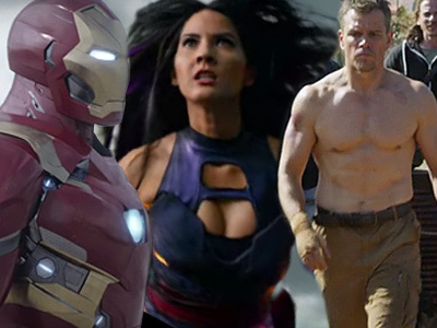 Civil War, X-Men, Bourne & More -- MUST-SEE Super Bowl Movie Trailers!