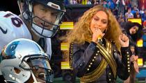 Beyonce -- Sorry Gamblers ... No Cleavage Tonight!