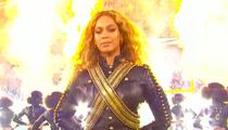 Beyonce -- Homage to Black Panthers During Super Bowl Performance