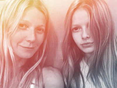 Wait Until You See Pic Gwyneth Posted of Apple with Blue Ivy -- She's Getting SO Big!