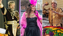 Mardi Gras Mania -- See The Stars On The Streets Of New Orleans