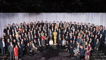 The Oscars -- #SoWhite Class Photo ... Where's The Weeknd? (PHOTO)