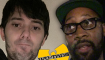 Martin Shkreli & RZA Sued -- You Put My Art on Front Street ... Now Pay Me!