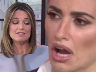 Savannah Guthrie SLAMS Penelope Cruz on 'Today' -- This Gets UGLY (& is Rude as Hell!)