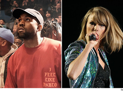 Kanye West is NOT Done Dragging Taylor Swift -- This is Getting SUPER Messy ... Just in Time for…
