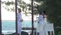 'Empire' -- Trai Byers & Grace Gealey ... Secret Island Wedding (PHOTOS)