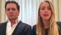 Johnny Depp and Amber Heard -- Bizarre Video Apology Gets 'Em Off Hook in Dog Case (VIDEO)
