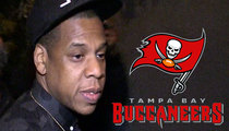 Tampa Bay Bucs -- Shout-out from Beyonce ... For Letting Jay Z Train In Team Gym