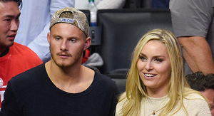 Lindsey Vonn -- 2nd Date with 'Vikings' Star ...…