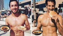 Hot Guys And Hummus: Feast Your Eyes on Instagram's New Craving