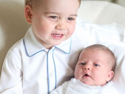 Princess Charlotte Looks SO BIG In New Pics Ahead of First Birthday -- TOO Cute!