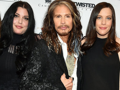 WOW! Steven Tyler Hits Red Carpet with All FOUR Children -- Including His Rarely-Seen Son!