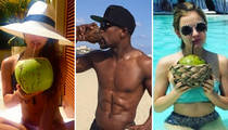 18 Loco Shots of Stars in Love with the Coco(nuts)