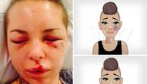 Porn Star Christy Mack -- Creates Domestic Violence Emojis ... Black Eyes, Bruises (PHOTOS)