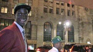 NBA's Thon Maker -- No Draft Party for Me ... I'm All Business!