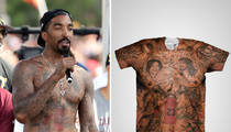 NBA's J.R. Smith -- Selling My Body ... Tatted Tees Making Huge $$$ (Pics)