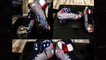 MLB's Bryce Harper -- Sick July 4th Cleats ... Most Patriotic Kicks Ever?? (Pic)