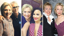 25 Photos of Hollywood Stars Hanging With Hillary