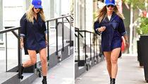 Rita Ora Strolling Through New York -- No Pants ... No Problem!