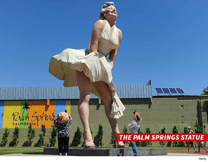 Celebrity justice for Marilyn monroe palm springs home