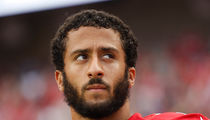 Colin Kaepernick: Sits During Anthem