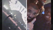 Drake -- Busts Out Jamaican Accent ... With Usain Bolt (VIDEO)
