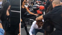 Kim Kardashian -- Ass-aulted ... By Gigi's Attacker (VIDEO)
