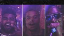 Snoop Dogg -- Parties with Dak Prescott & Ezekiel ... After Cowboys Victory (VIDEOS)