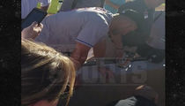 Tim Tebow -- Prays Over Collapsed Fan ... After Seizure At Fall League Game (VIDEO)