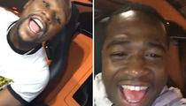 Floyd Mayweather -- Adrien Broner's Bunkin' With Me ... 'Til He Feels Better (VIDEO)